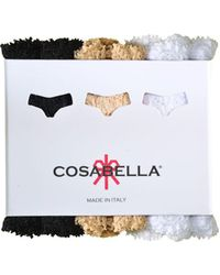 Cosabella - Never Say Never Cutietm Lowrider Thong 3-pack - Lyst