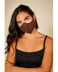 Cosabella V Face Mask - Brown
