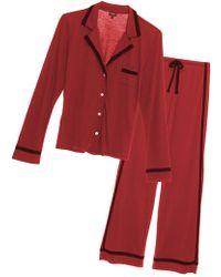 Cosabella - Bella Long-sleeve Top And Pant Pajama Set - Lyst