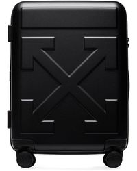 Off-White c/o Virgil Abloh Arrow Trolley Suitcase In Black