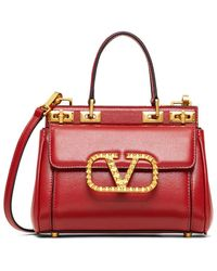Valentino - Small Rockstud Alcove Handbag - Lyst
