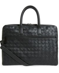 Bottega Veneta Classic Briefcase - Black