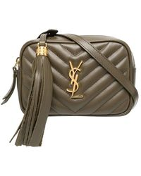 Saint Laurent Lou Belt Bag In Quilted Leather - Multicolor