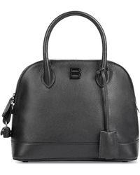 Balenciaga Ville Top Handle Bag In Black