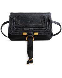 Chloé Marcie Belt Bag In Black