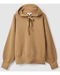 COS Relaxed-fit Hoodie - Natural