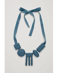 COS - Rubber-coated Short Necklace - Lyst