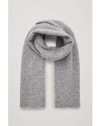 COS - Alpaca-wool Scarf - Lyst