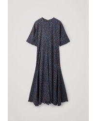 COS - Long A-line Dress - Lyst