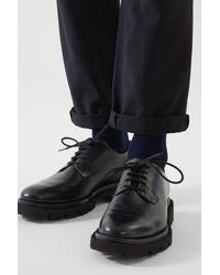 COS 3-pack Mercerised Cotton Socks - Blue