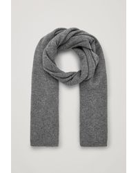 COS - Cashmere Scarf - Lyst