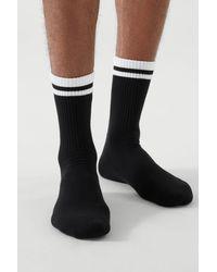 COS 2-pack Striped Socks - White