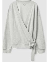 COS Wrap Cardigan - Grey