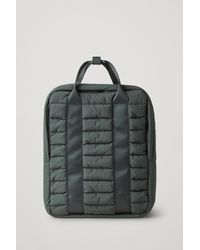 COS Padded Backpack - Green