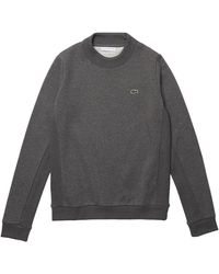 Lacoste SPORT Fleece Tennis Pullover - Grau