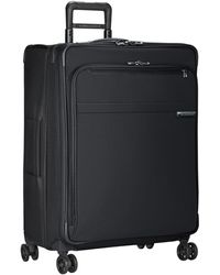 Briggs And Riley Large Expandable Spinner Luggage - Black