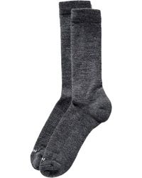 Filson Everyday Crew Fashion Socks - Grey