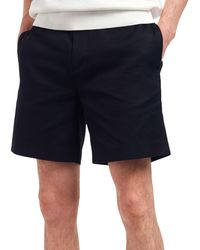 Fred Perry Shorts Waffle Texture - Bleu