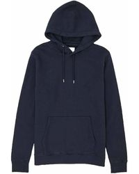 COLORFUL STANDARD Classic Organic Pullover Hoody - Blue