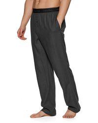 Calvin Klein Pyjamas Sleep Pant - Gris