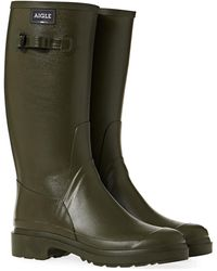 Aigle Cessac Wellington Boots - Green