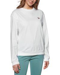 Paul Smith Zebra Long Sleeve T-shirt - White