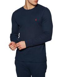 Polo Ralph Lauren Vêtement d'intérieur Crew Sleep - Bleu
