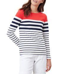 Joules Harbour Long Sleeve T-shirt - Blue