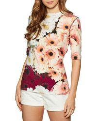 Paul Smith Printed Short Sleeve T-shirt - Multicolour