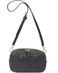 Ally Capellino Leila Medium Calvert Leather Handbag - Black