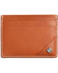 GANT Leather Card Holder - Brown