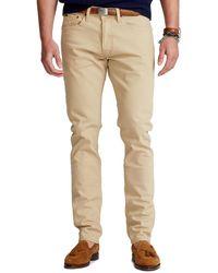 Polo Ralph Lauren Sullivan Slim Stretch Jeans - Natur