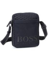 BOSS by HUGO BOSS Zip Messenger Bag - Black