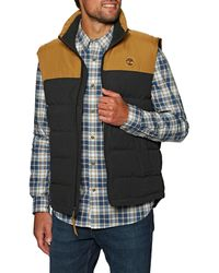 Timberland Welch Mountain Puffer Vest Gilet - Multicolor