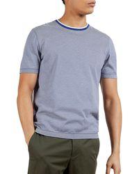 Ted Baker T-Shirt à Manche Courte Raki - Bleu