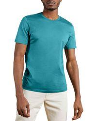 Ted Baker T-Shirt à Manche Courte Only - Bleu