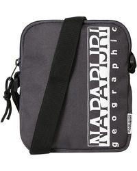 Napapijri Happy Cross S 2 Messenger Bag - Grey