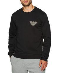 Emporio Armani Vêtement d'intérieur Knit Sweater - Noir