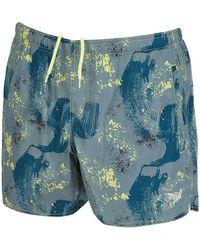 Emporio Armani 4 Swim Shorts - Blue