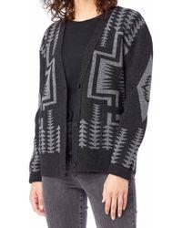 Pendleton Gilet Harding Crew Knitwear - Gris