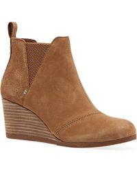 TOMS Women's Kelsy Boot - Braun