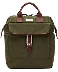 Joules Wells Cross Backpack - Green