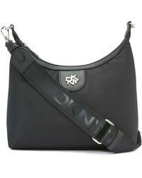 DKNY Carol Medium Crossbody Handbag - Black