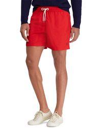 Polo Ralph Lauren Swim Badeshorts - Rot