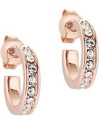 Ted Baker Earrings Seenita Nano Hoop Huggie - Multicolore