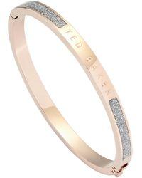 Ted Baker Bracelet Elemara - Métallisé