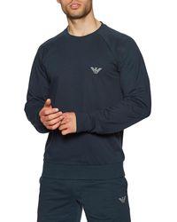 Emporio Armani Vêtement d'intérieur Knit Sweater - Bleu