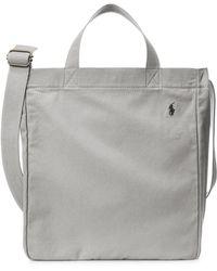 Polo Ralph Lauren Shopper Tote Einkaufstasche - Grau