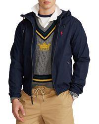Polo Ralph Lauren Canvas Hooded Jacke - Blau
