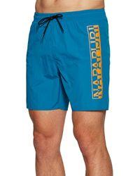 Napapijri Pantaloncini da Bagno Victor - Blu